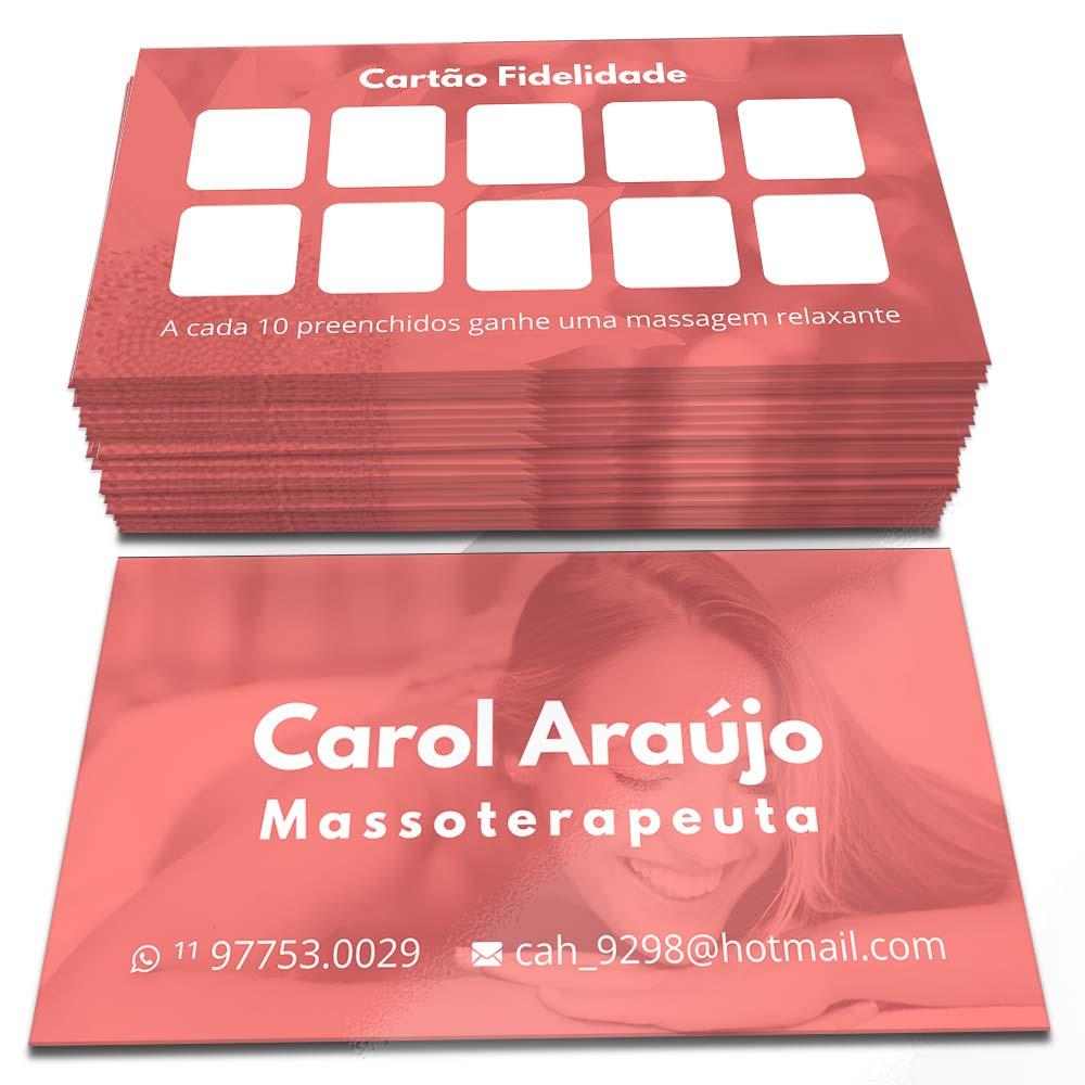 Cartão de Visita Carol