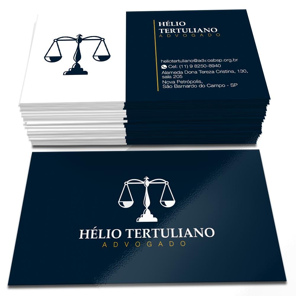 Cartão de Visita Hélio