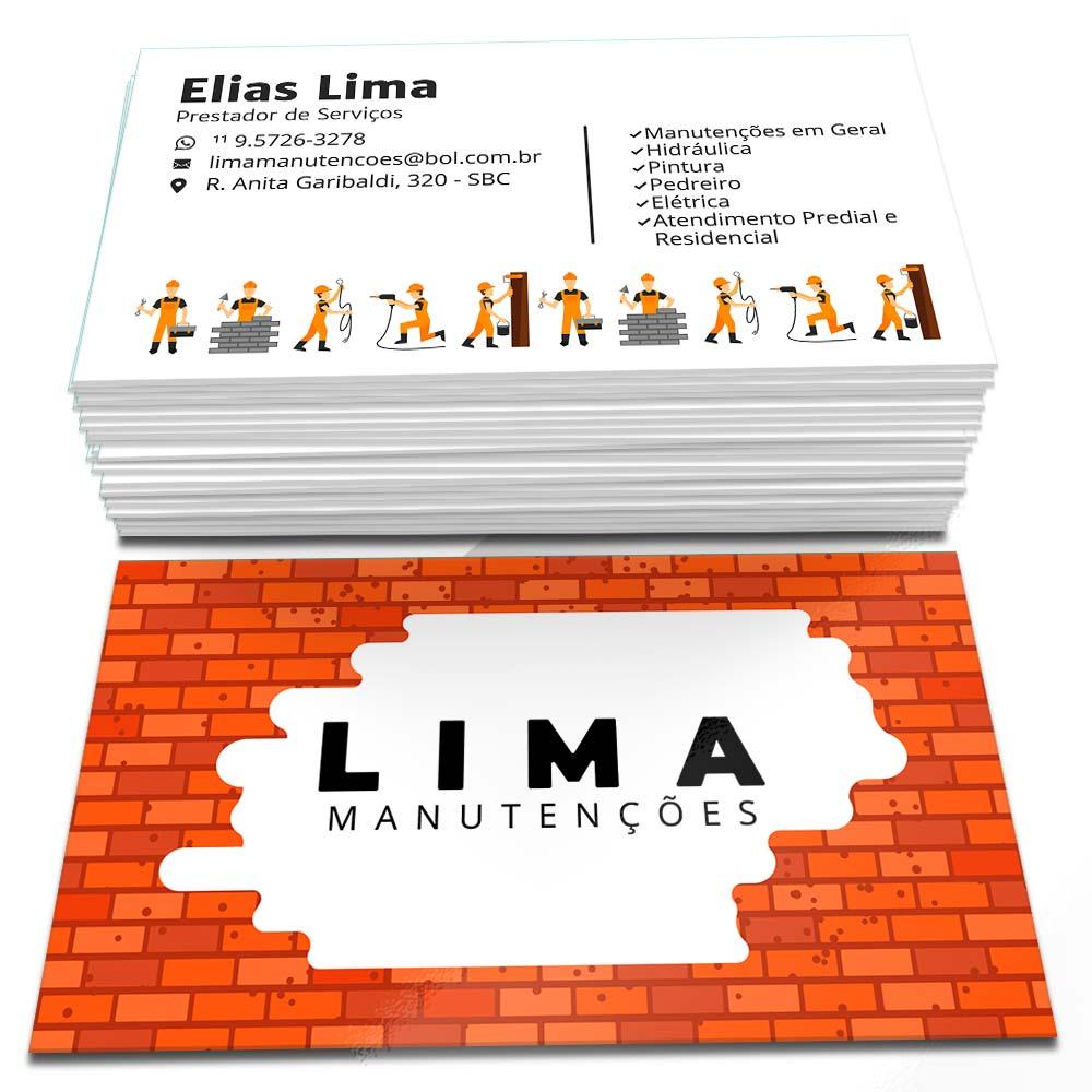 Cartão de Visita Lima