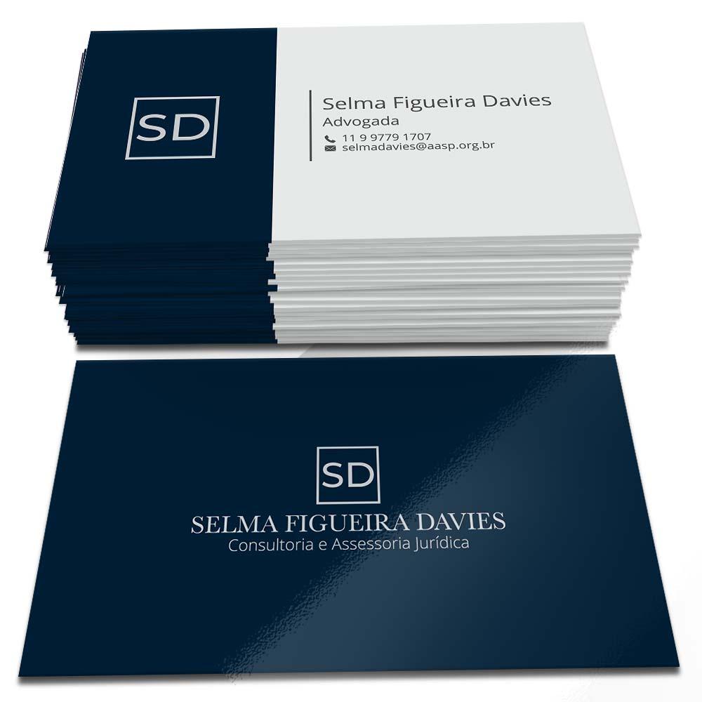 Cartão de Visita Selma