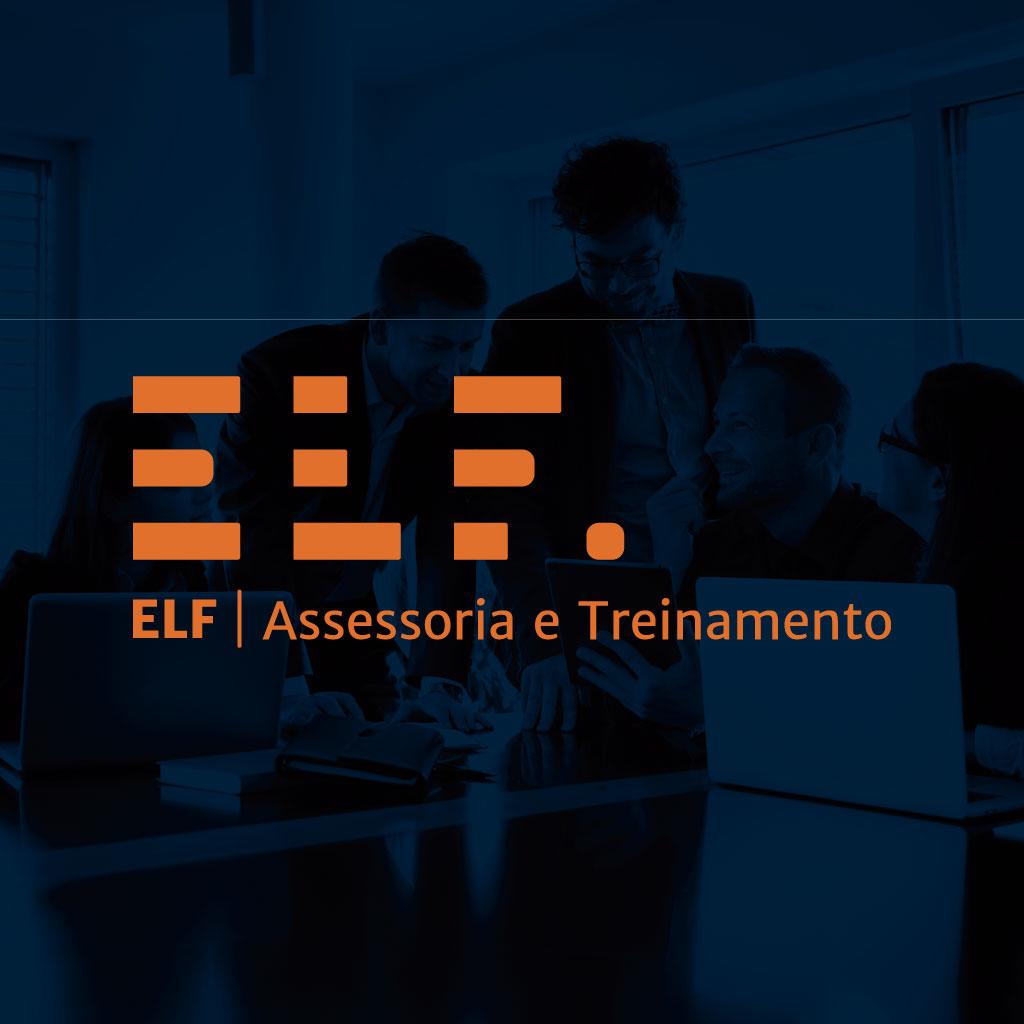 Logotipo Elf Assessoria