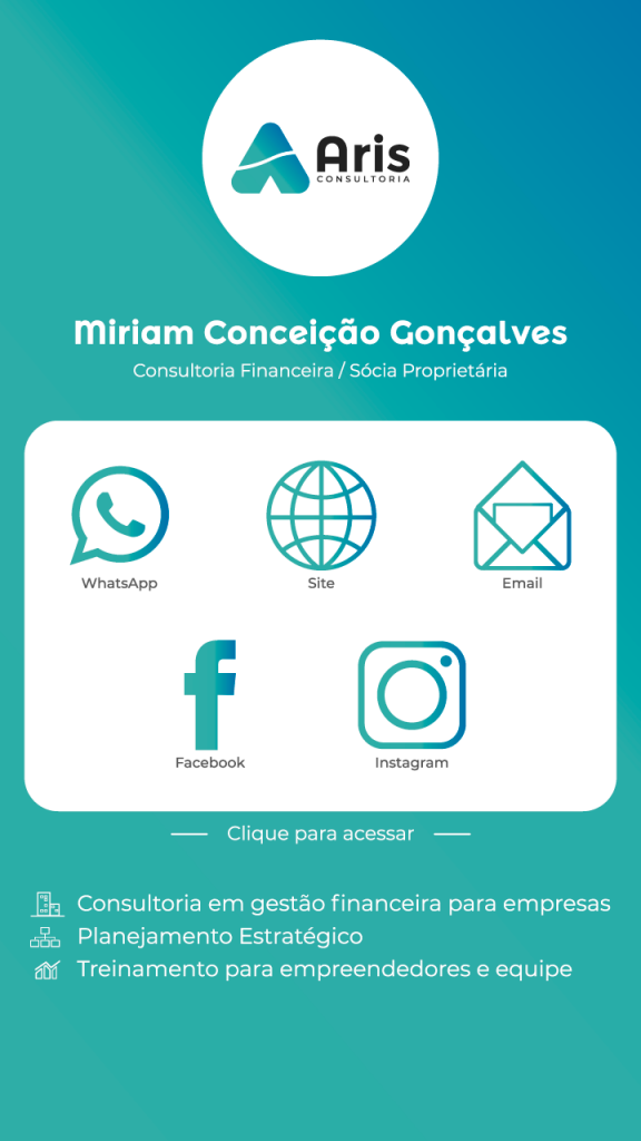Cartão de Visita Virtual Aris Consultoria