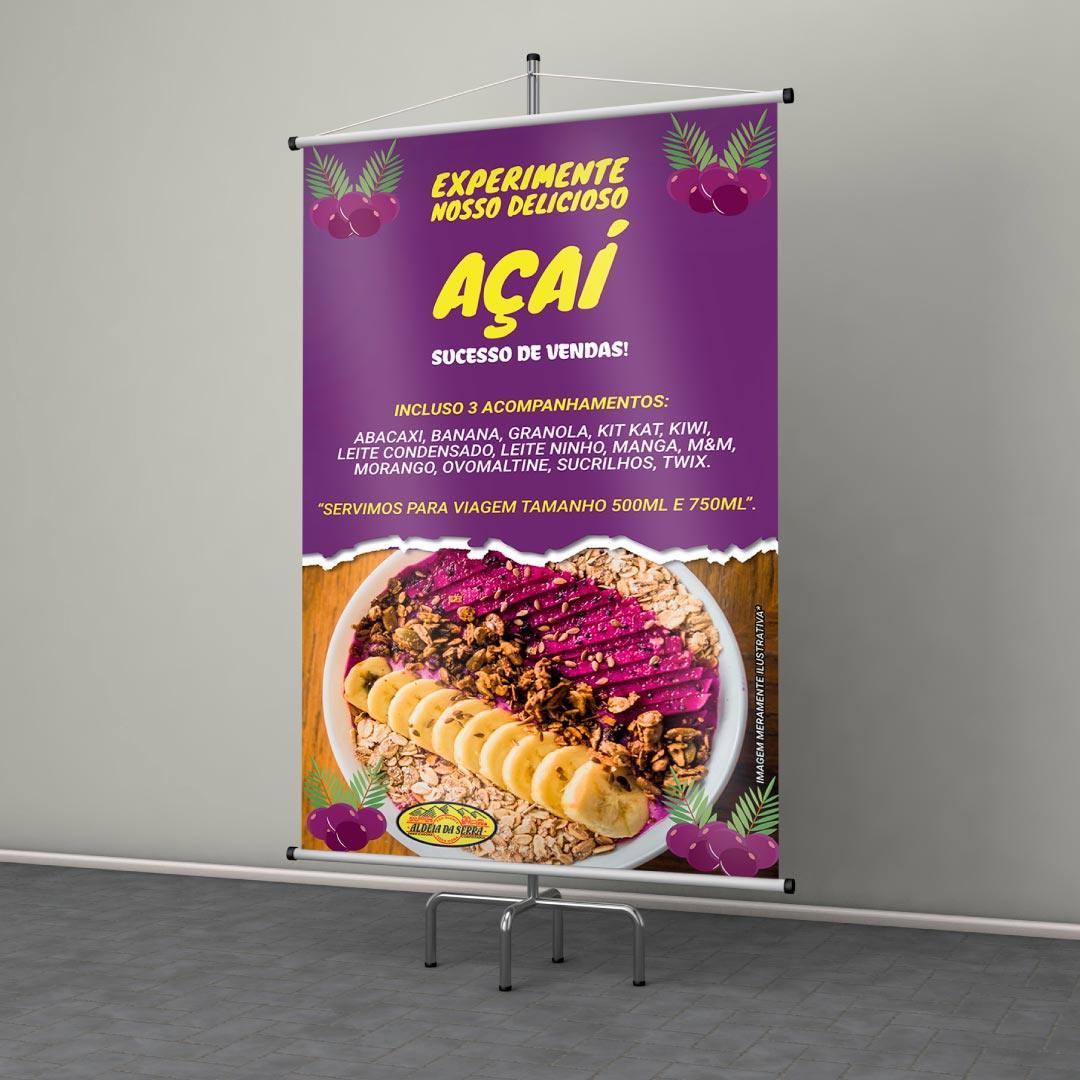 Banner Açaí