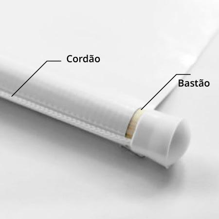 Banner com bastão e cordão