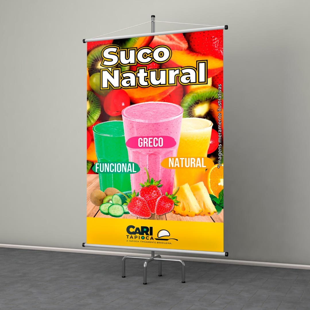 Banner Suco Natural