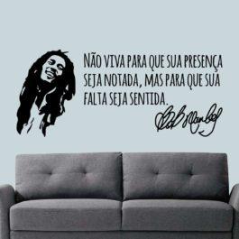 Frase do Bob Marley
