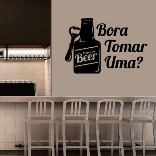 Bora tomar uma e Garrafa Beer