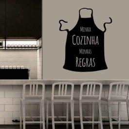 Minha Cozinha Minhas Regras Avental 01