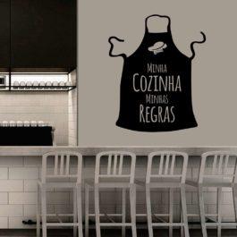 Minha Cozinha Minhas Regras Avental 02